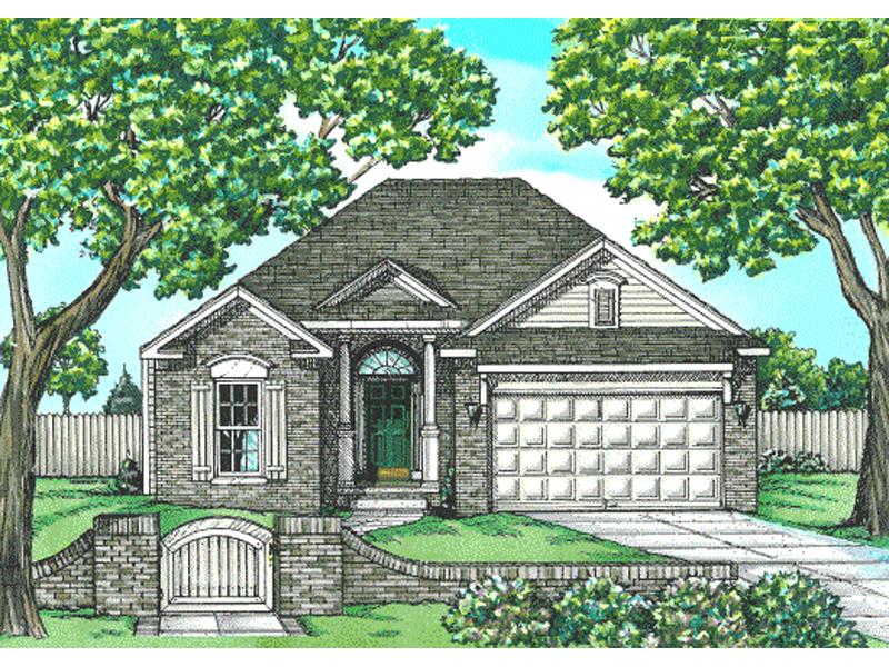 Glover spring ranch home plan 026d 0837 house plans and more Home plans and more