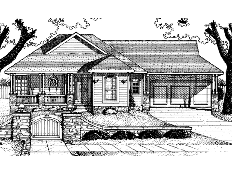 Perth place country ranch home plan 026d 0855 house for Country home designs perth