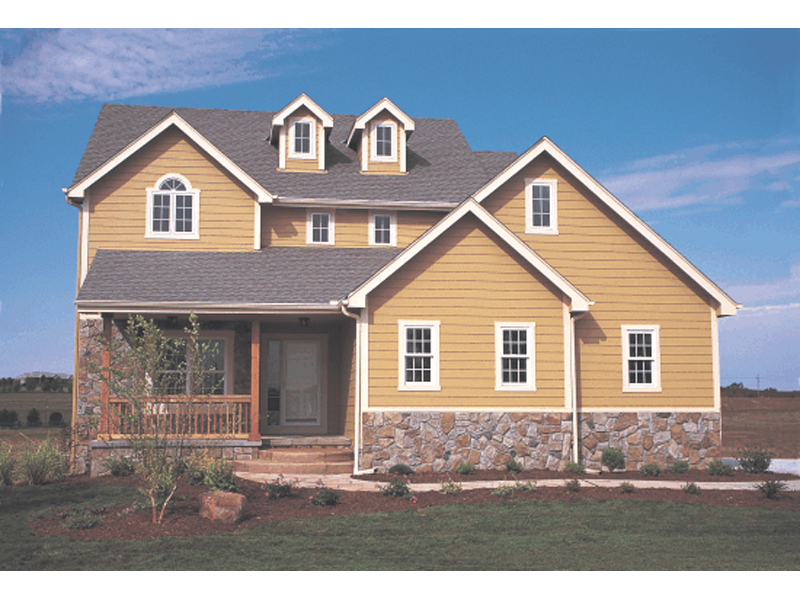 Traditional House Plan Front of Home 026D-0928