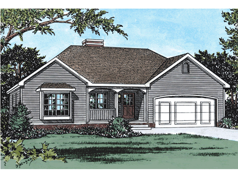 Dunbar Spring Ranch Home Plan 026d 0966 House Plans And More