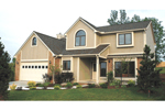 Traditional House Plan Front of Home - 026D-1030 | House Plans and More