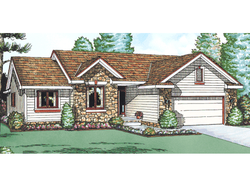 Long prairie ranch home plan 026d 1104 house plans and more for Long ranch house plans
