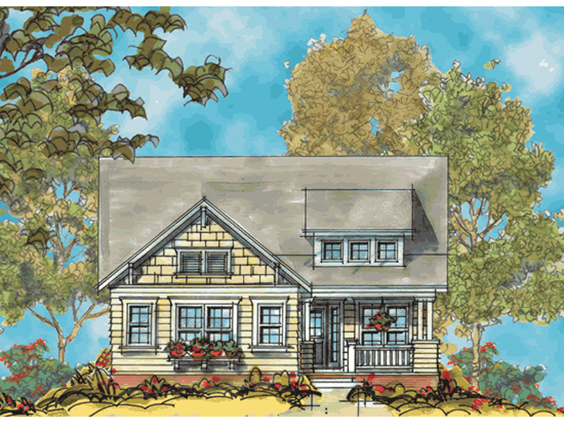 Grandwood Country Ranch Home Plan 026d 1257 House Plans