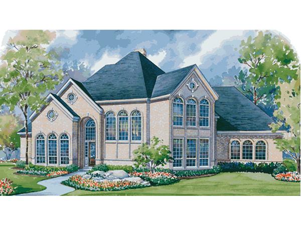 Ackman Hill Luxury European Home Plan 026D 1279 House