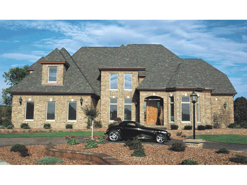 European House Plan Front of Home 026D-1290