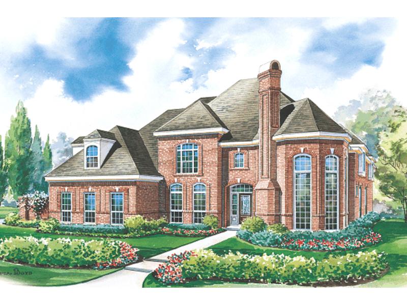 Glen Ellyn Luxury European Home Plan 026D 1304 House