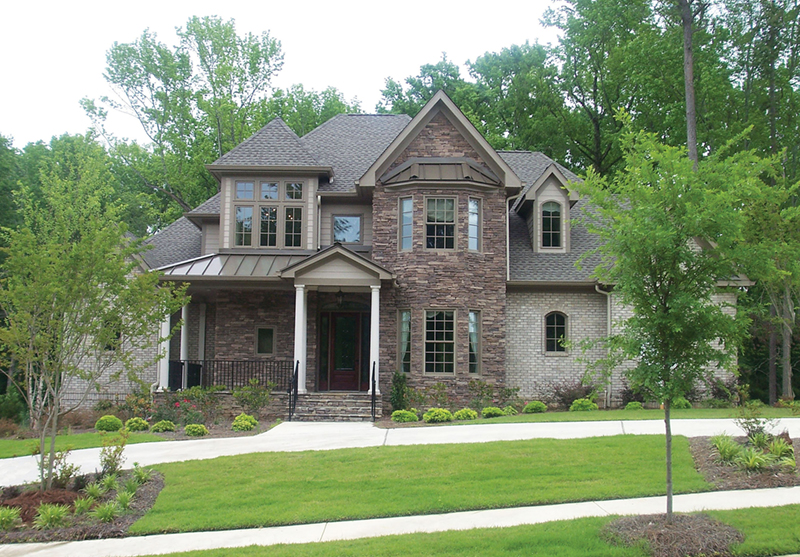 Naperville european style home plan 026d 1324 house for European home designs llc