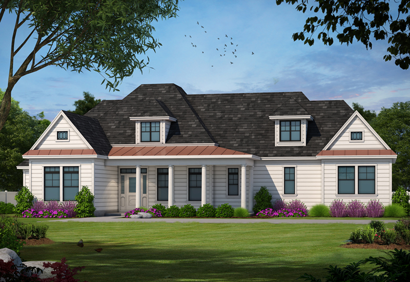Gleneagles country french home plan 026d 1330 house for French farmhouse plans