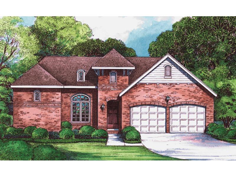 Boone Grove European Ranch Home Plan 026D 1395 House