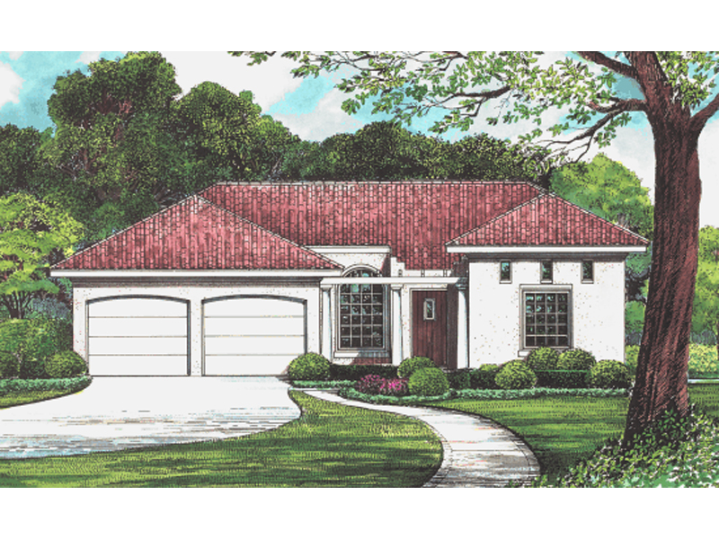 Garrett Ferry Ranch Home Plan 026d 1402 House Plans And More