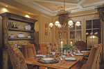 European House Plan Dining Room Photo 01 - 026D-1405 | House Plans and More