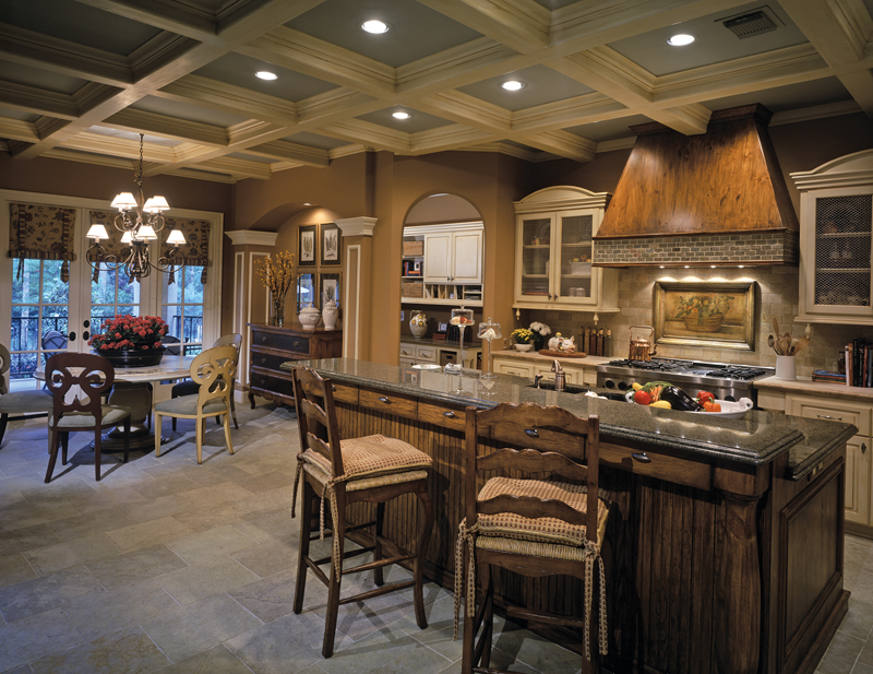 Traditional House Plan Kitchen Photo 01 026D-1405