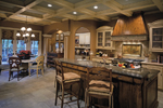 Country French House Plan Kitchen Photo 01 - 026D-1405 | House Plans and More