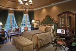 Country French Home Plan Master Bedroom Photo 01 - 026D-1405 | House Plans and More