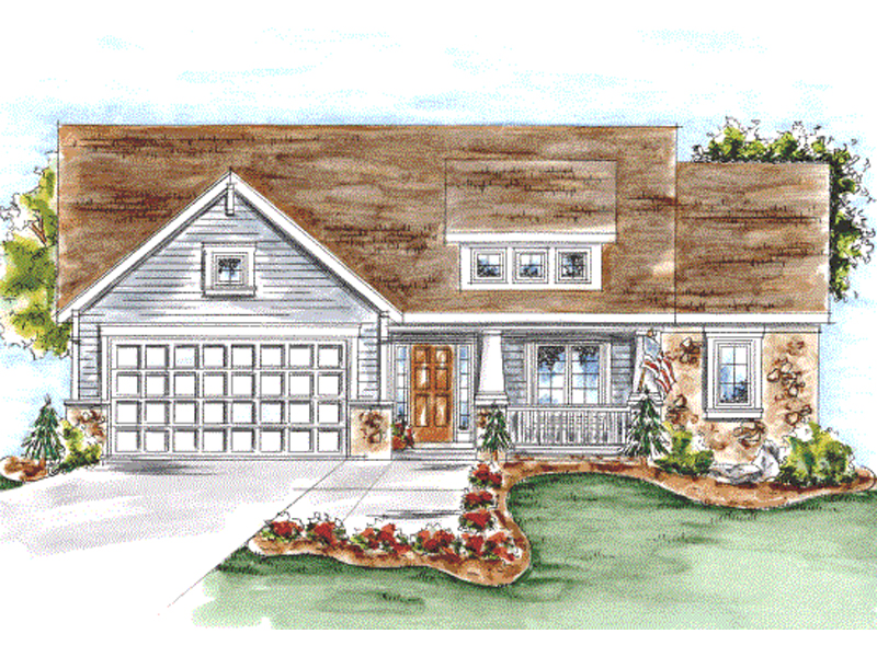 Hazelpark arts and crafts home plan 026d 1646 house for Arts and crafts house plans