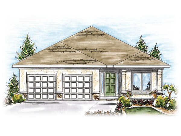 Solsberry sunbelt ranch home plan 026d 1657 house plans for Sunbelt homes