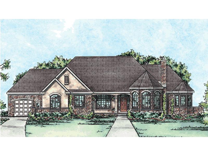Hawkeye European Luxury Home Plan 026D 1674 House Plans