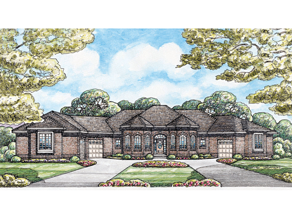 Hanford Luxury Ranch Home Plan 026d 1683 House Plans And