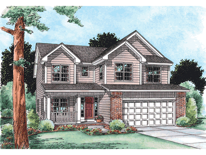Scotch farm southern home plan 026d 1733 house plans and Southern charm house plans