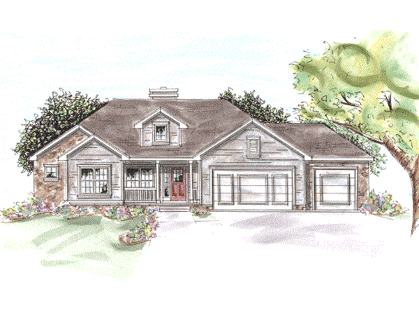 Brandenburg Cliff Ranch Home Plan 026d 1791 House Plans