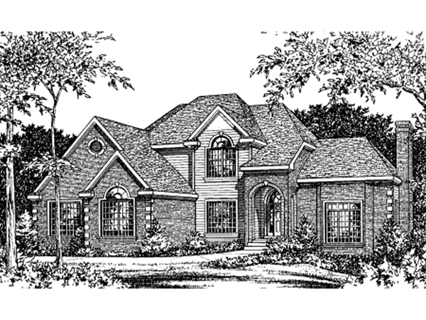 Adairville Southern Luxury Home Plan 026d 1799 House