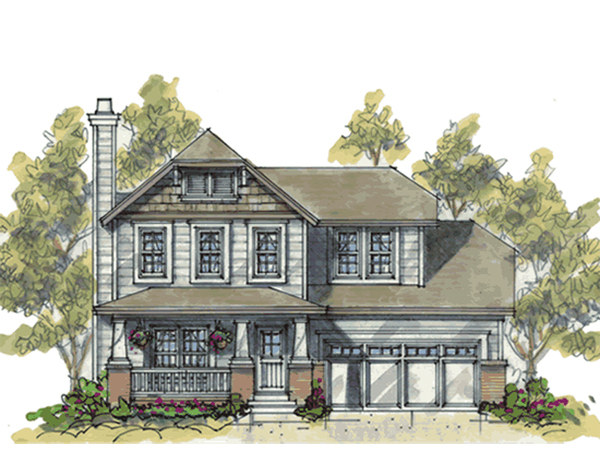 Casco hill arts and crafts home plan 026d 1837 house for Arts crafts house plans
