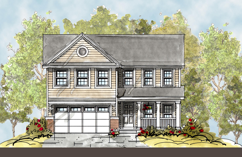 Craftsman House Plan Front Image - 026D-1850 | House Plans and More