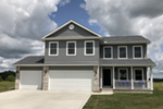 Country House Plan Front of Home - 026D-1850 | House Plans and More