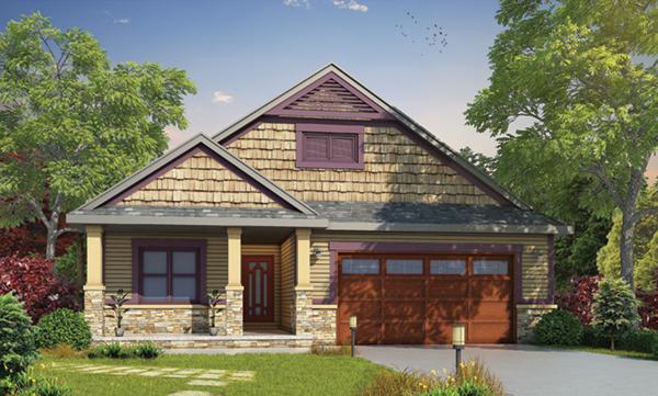 Denis shingle craftsman home plan 026d 1907 house plans for Award winning lakefront house plans