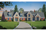 Traditional House Plan Front of Home - 026D-1927 | House Plans and More