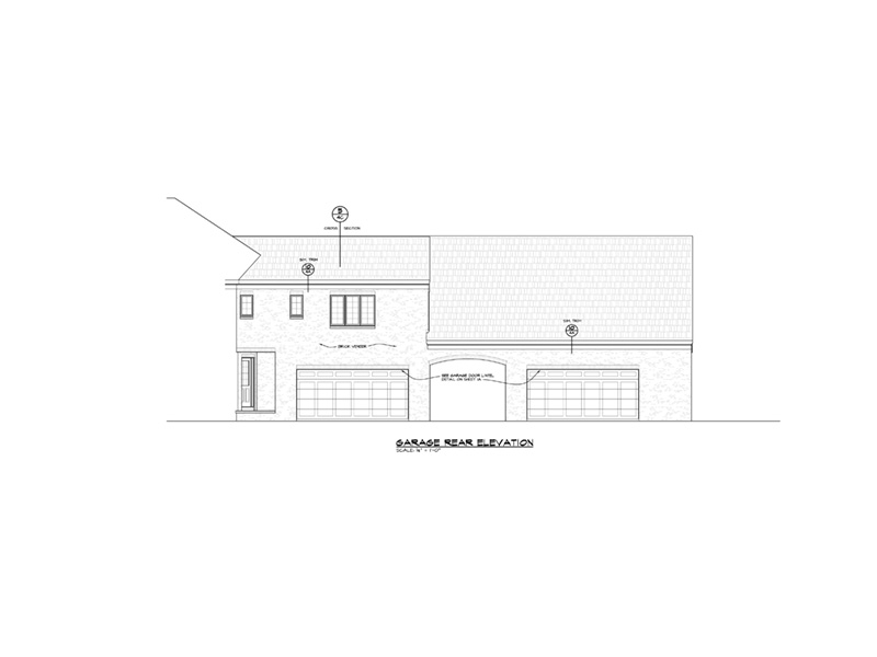 Country French House Plan Garage Photo - 026D-1927 | House Plans and More