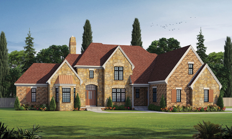 Front of Home - 026D-1928 | House Plans and More