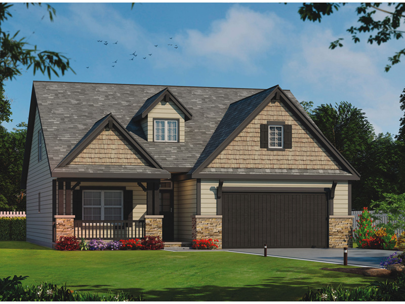 Newton pike rustic ranch home plan 026d 1940 house plans for 1940 house plans