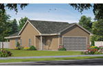 Country House Plan Front of Home - 026D-2038 | House Plans and More