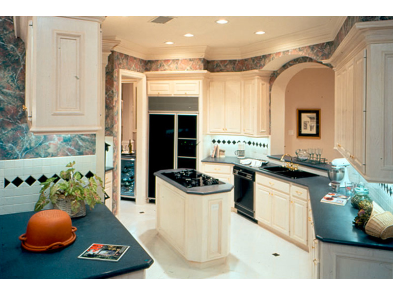 European House Plan Kitchen Photo 01 - 026S-0008 | House Plans and More