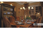 Tudor House Plan Dining Room Photo 01 - 026S-0018 | House Plans and More