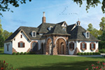 Tudor House Plan Front Photo 01 - 026S-0018 | House Plans and More