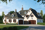 English Tudor House Plan Front Photo 02 - 026S-0018 | House Plans and More