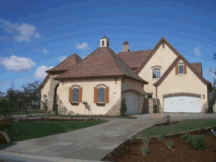 European House Plan Front Photo 03 - 026S-0018 | House Plans and More