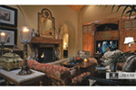 English Tudor House Plan Living Room Photo 01 - 026S-0018 | House Plans and More