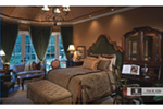 European House Plan Master Bedroom Photo 01 - 026S-0018 | House Plans and More