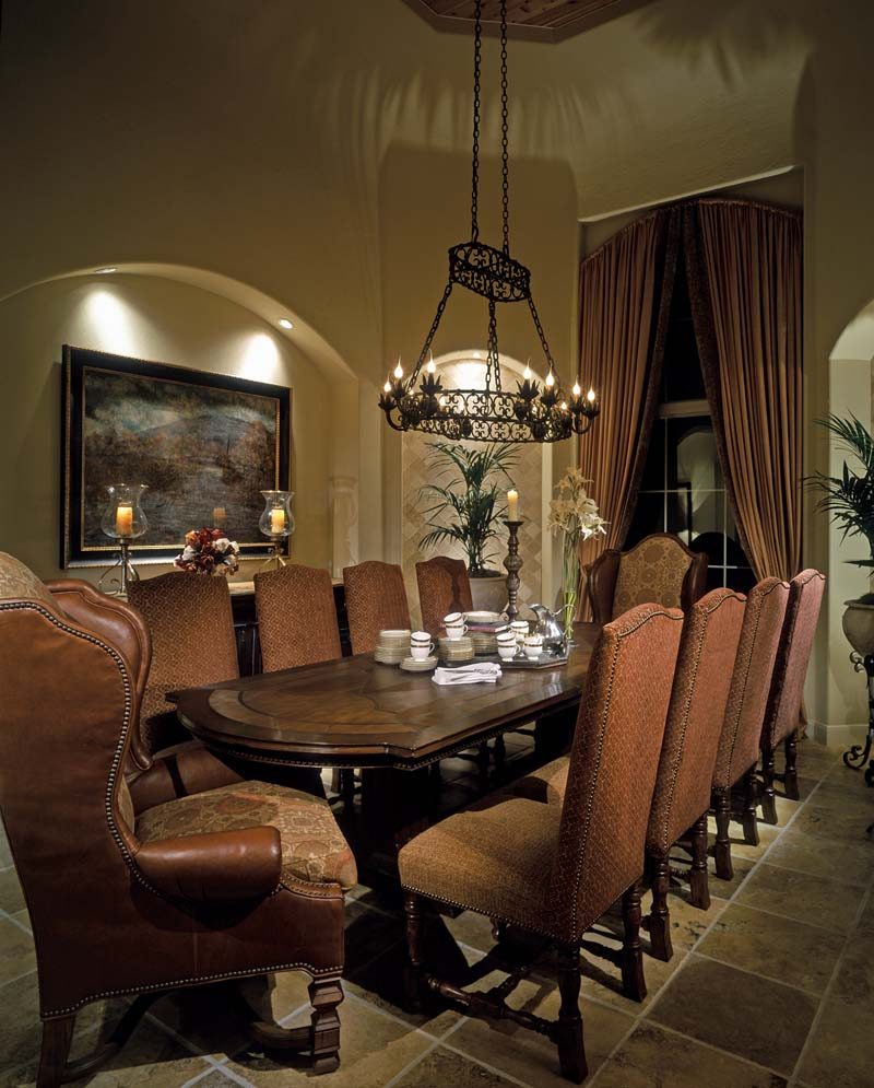Santa Fe House Plan Dining Room Photo 01 026S-0020