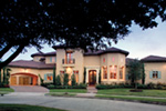 Adobe House Plans & Southwestern Home Design Front Photo 03 - 026S-0020 | House Plans and More
