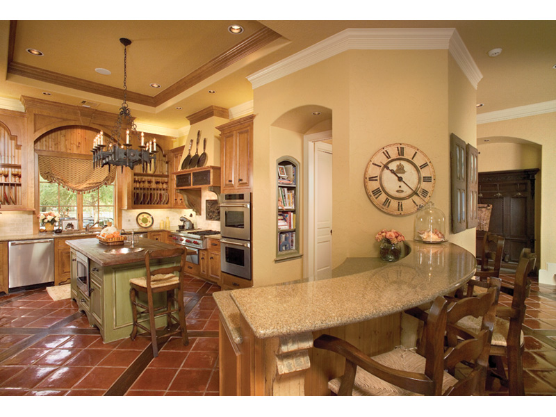 European House Plan Kitchen Photo 01 026S-0020