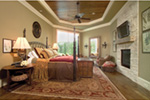 European House Plan Master Bedroom Photo 01 - 026S-0020 | House Plans and More