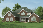 Southern House Plan Front Photo 01 - 027D-0004 | House Plans and More