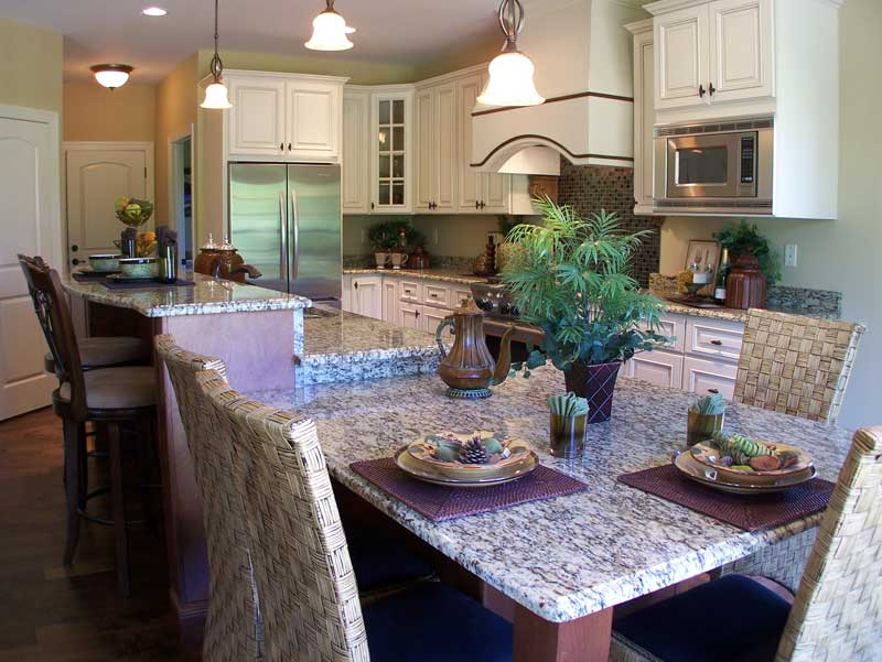 European House Plan Kitchen Photo 02 - 027D-0022 | House Plans and More