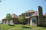 European House Plan Side View Photo 02 - 027S-0003 | House Plans and More