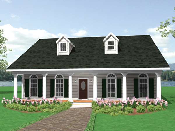 Hargrave southern ranch home plan 028d 0003 house plans for Southern home and ranch