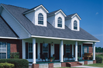 Southern House Plan Front Photo 02 - 028D-0004 | House Plans and More